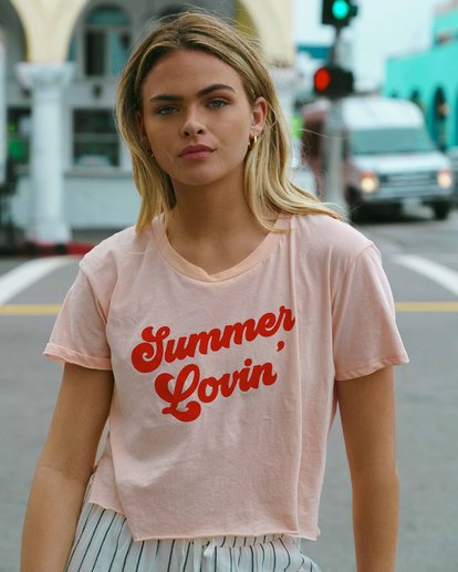1 Summer Lovin Tee Orange J413VBSU Billabong
