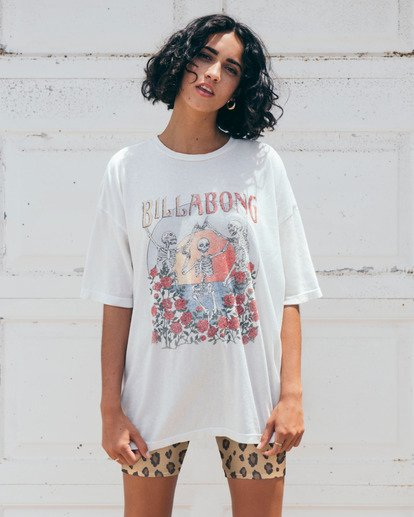 0 Morning Sun T-Shirt White J4183BMO Billabong