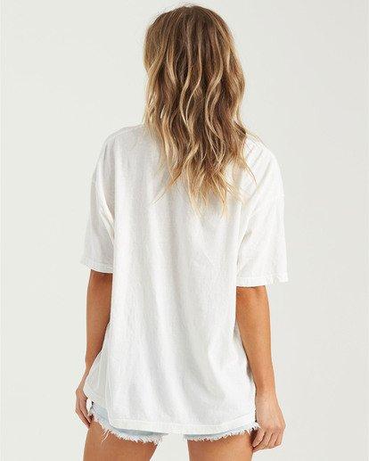 2 Morning Sun T-Shirt White J4183BMO Billabong