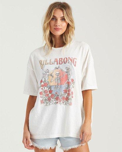 1 Morning Sun T-Shirt White J4183BMO Billabong