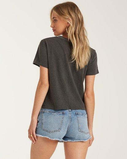 2 Tanlines T-Shirt Black J4212BTA Billabong