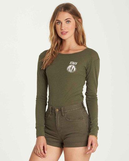 1 Staff Only Long Sleeve T-Shirt  J424QBST Billabong