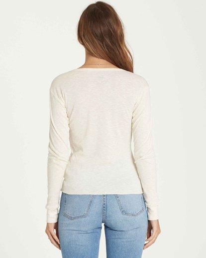 1 Take Me Higher Long Sleeve T-Shirt Beige J424QBTA Billabong
