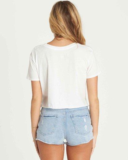 2 Hello Summer Crop T-Shirt  J436PBHE Billabong