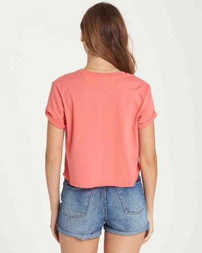 2 Feelin' Free Crop T-Shirt Pink J436QBFE Billabong