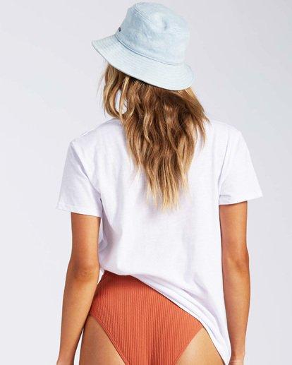 2 Florida Gatordaze T-Shirt White J4371BGR Billabong