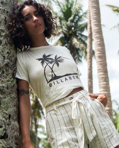 0 Palm Horizon T-Shirt White J4371BPA Billabong