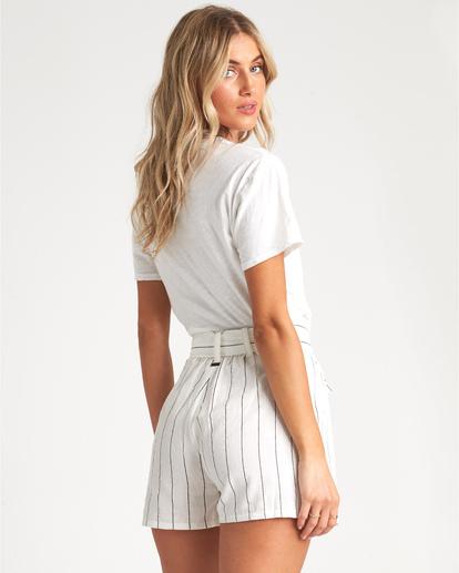 2 Palm Horizon T-Shirt White J4371BPA Billabong