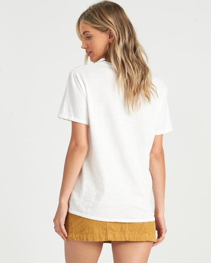 3 Pipe Dream T-Shirt White J4371BPI Billabong