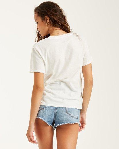 2 Cali Sunshine T-Shirt White J4372BCA Billabong