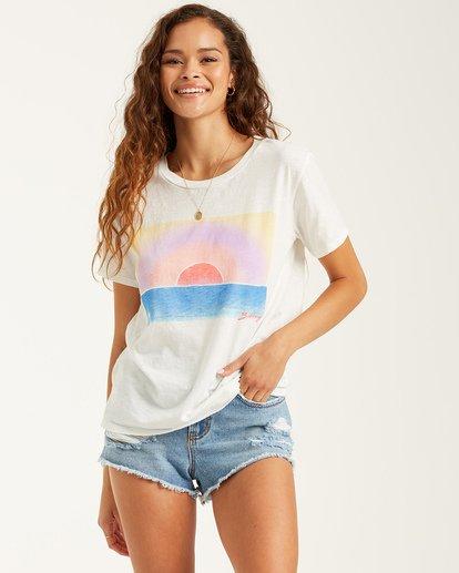 0 Work Of Art T-Shirt White J4372BWO Billabong