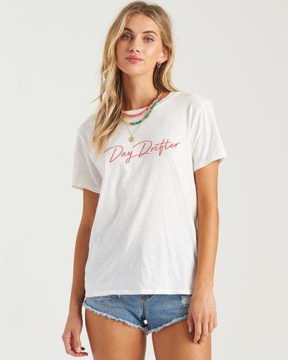 0 Day Drifter T-Shirt White J4373BDA Billabong