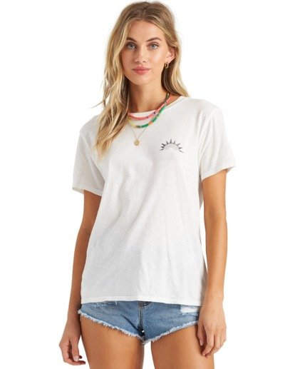1 Day Drifter T-Shirt White J4373BDA Billabong