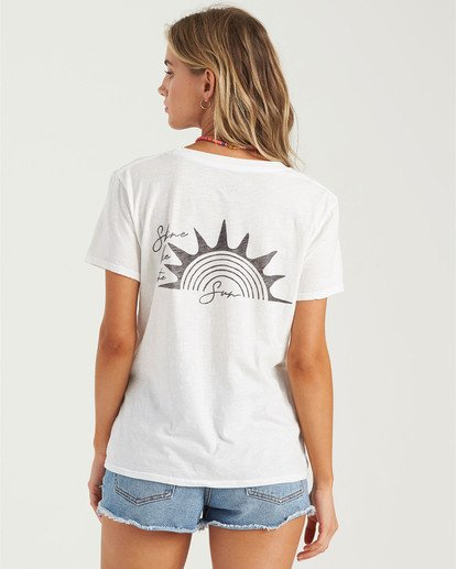 3 Shine Bright T-Shirt  J4373BSH Billabong