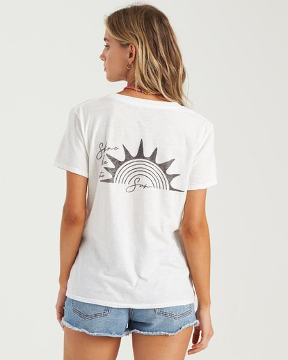 7 Shine Bright T-Shirt  J4373BSH Billabong