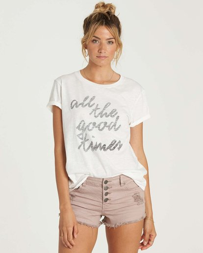 0 Good Times T-Shirt  J437NBGO Billabong