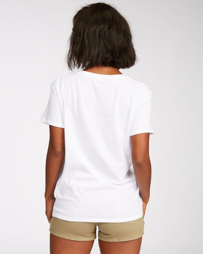 2 Hawaii  Vacay T-Shirt White J437QBDR Billabong