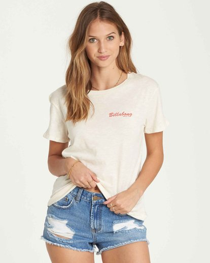 0 Feelin' Free Tee White J437QBFE Billabong