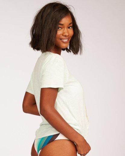 1 Waikiki Pineapple Love Short Sleeve T-Shirt Green J437QBPR Billabong