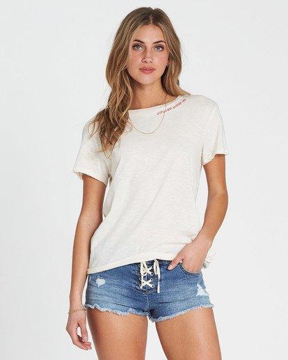 0 Dream With Me T-Shirt  J437SBDR Billabong