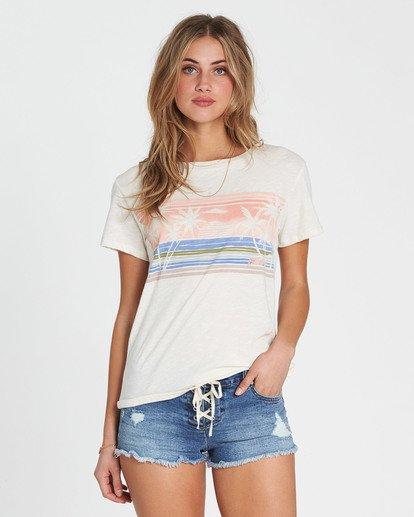 0 Watercolor Ocean T-Shirt  J437SBWA Billabong