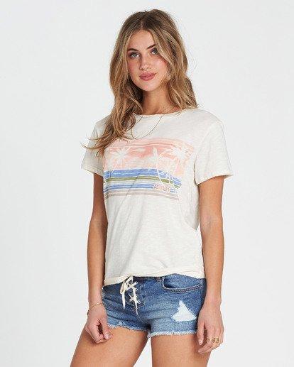 1 Watercolor Ocean T-Shirt  J437SBWA Billabong