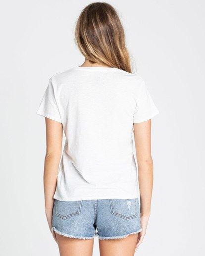 2 Blissed Out Tee White J437TBBL Billabong