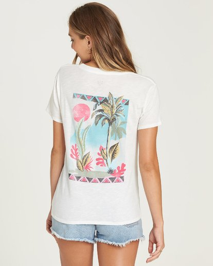 2 Life In The Wild Tee White J437UBLI Billabong