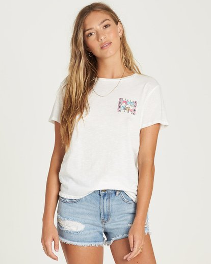 0 Life In The Wild Tee White J437UBLI Billabong