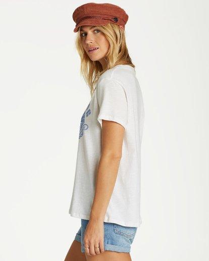 2 Free Your Mind T-Shirt White J437VBFR Billabong