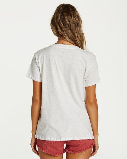 2 Mother Nature T-Shirt White J437VBMO Billabong