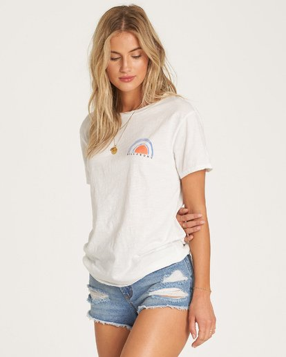1 Dawn Sky T-Shirt White J437WBDA Billabong
