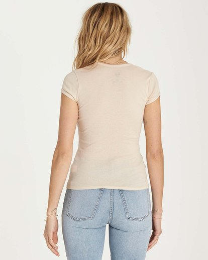 4 Hot Nights Tee Beige J439MHOT Billabong