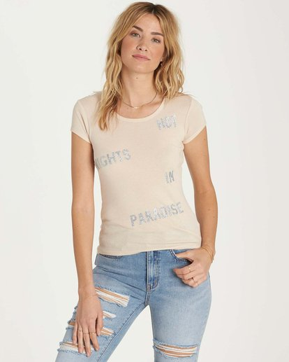1 Hot Nights Tee Beige J439MHOT Billabong
