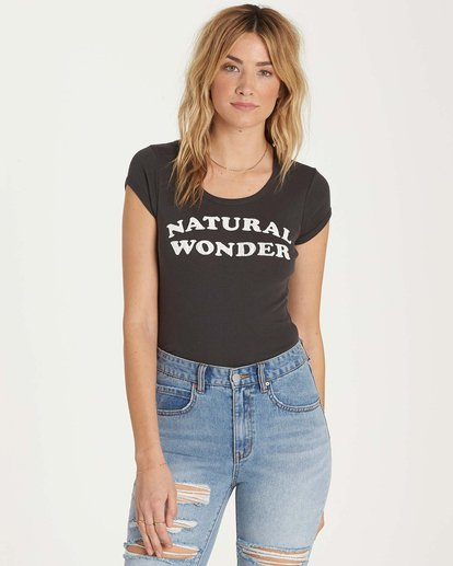 0 Natural Wonder T-Shirt  J439MNAT Billabong