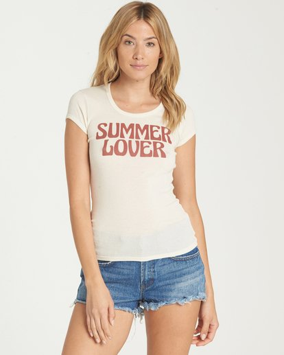 0 Summer Lover Tee  J439NBSU Billabong