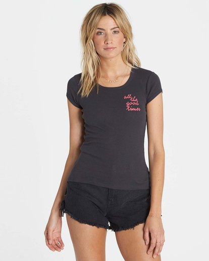 0 Good Times Tee  J439NGO Billabong
