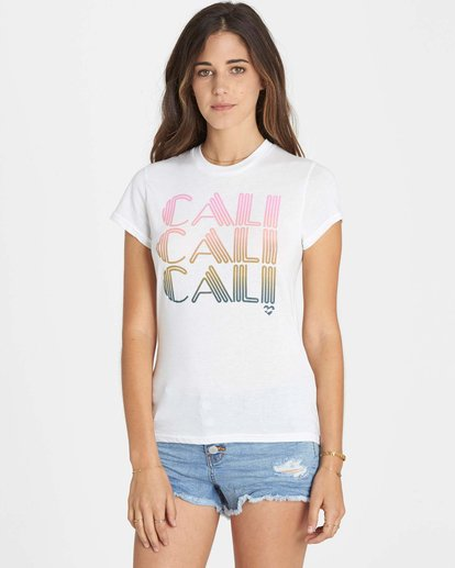 0 Cali Heart T-Shirt  J441LCAL Billabong