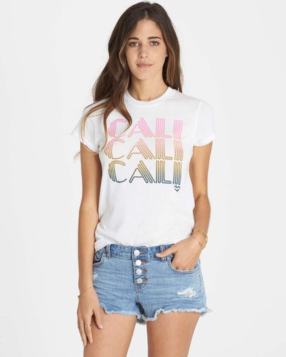 3 Cali Heart T-Shirt  J441LCAL Billabong
