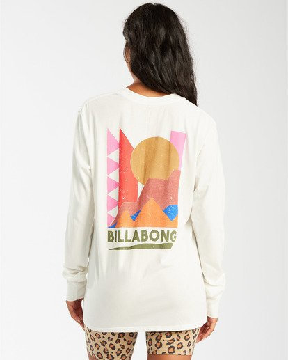 3 A/DIV Great Outdoors T-Shirt White J4463BGR Billabong