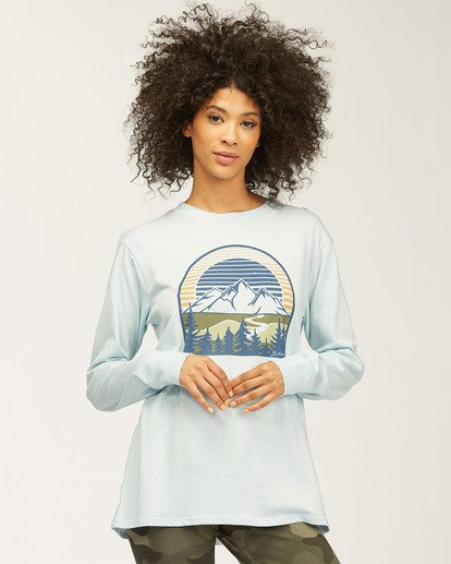 0 Wild Bonfire Long Sleeve T-Shirt Multicolor J4463WND Billabong