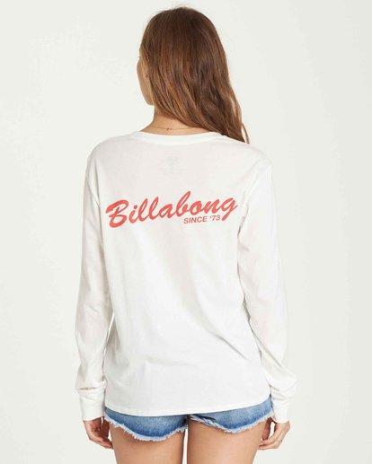 2 Old School Long Sleeve T-Shirt  J446QBOL Billabong