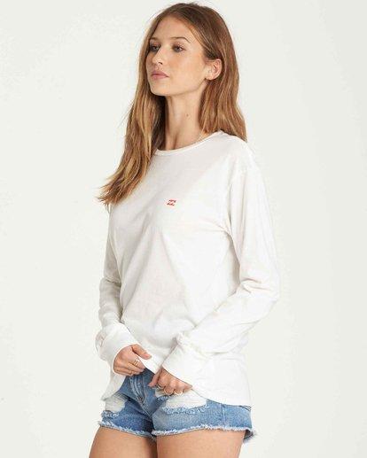 1 Old School Long Sleeve T-Shirt  J446QBOL Billabong