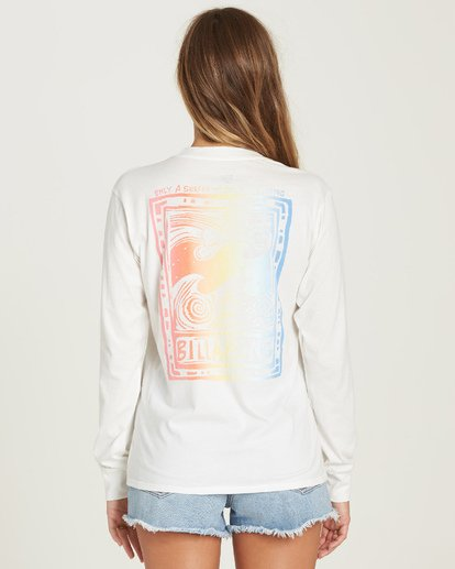 2 Know The Feeling Tee White J446UBKN Billabong
