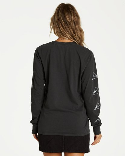 1 Home Sweet Home Long Sleeve Tee Black J446VBHO Billabong