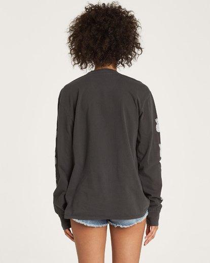2 Hello Aloha Long Sleeve T-Shirt Black J446WBHE Billabong
