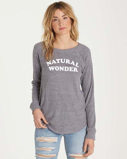 0 Natural Wonder Long Sleeve Tee  J447MNAT Billabong
