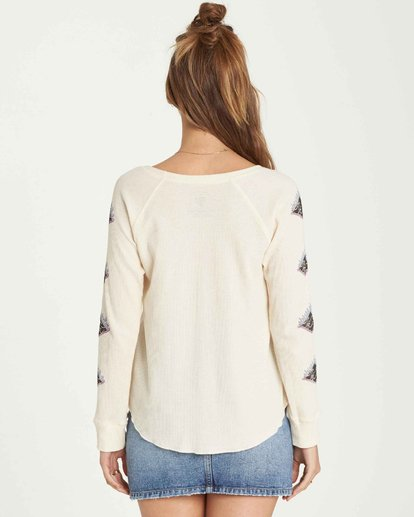 2 Heritage Thermal Long Sleeve T-Shirt  J447QBHE Billabong