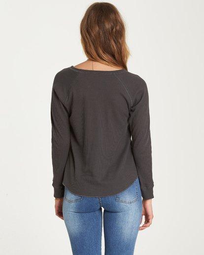 2 Love Billabong Thermal Long Sleeve T-Shirt  J447QBLO Billabong