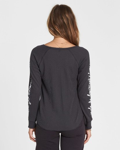 2 Daydreaming Thermal Long Sleeve T-Shirt  J447SBDA Billabong